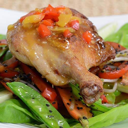 Asian Style Muscovy Duck Legs Recipe