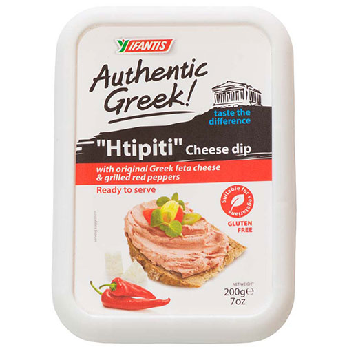 Authentic Greek Htipiti Cheese Dip