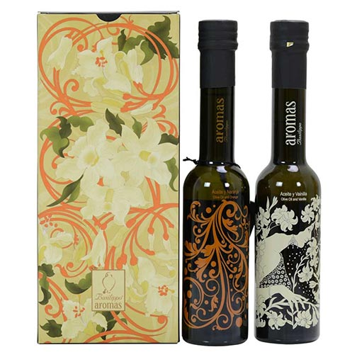 Vanilla & Orange Extra Virgin Olive Oil - Gift Set
