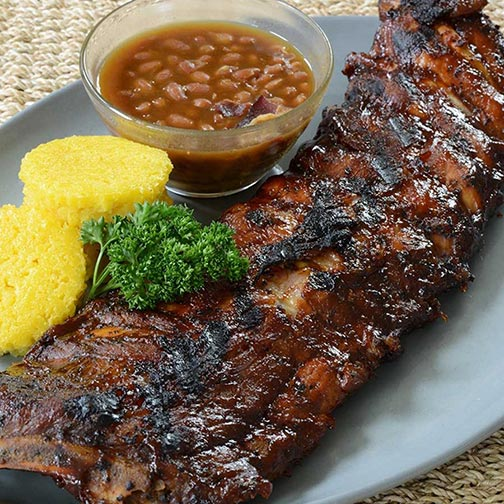 Berkshire Pork Loin Back Ribs