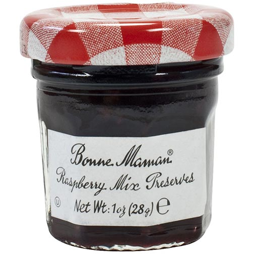 Bonne Maman Raspberry Mix Preserves - Mini Jars