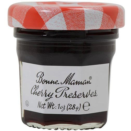 Bonne Maman Cherry Preserves - Mini Jars