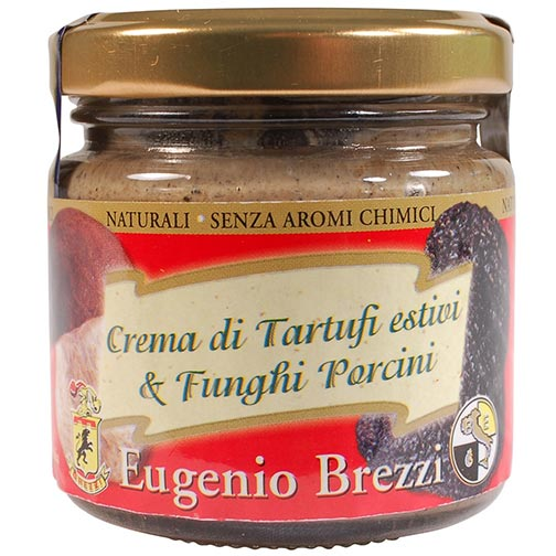 Summer Black Italian Truffle Paste with Porcini Mushrooms