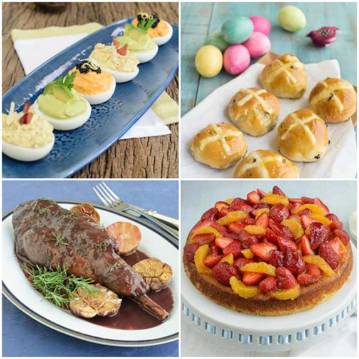 A Bright and Delicious Easter Menu