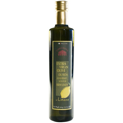 Italian Organic Extra Virgin Olive Oil Pressed with Lemon
