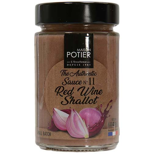 Christian Potier Shallot and Red Wine Sauce | Gourmet Food World