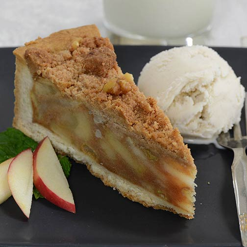 Deep Dish Apple Pie, No Sugar Added