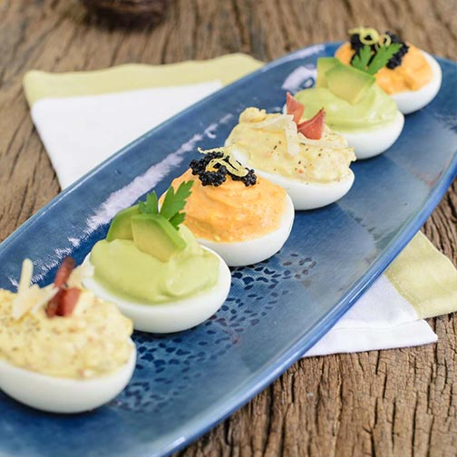 Deviled Eggs Three Ways Recipe