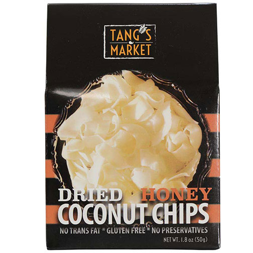 Dried Honey Coconut Chips