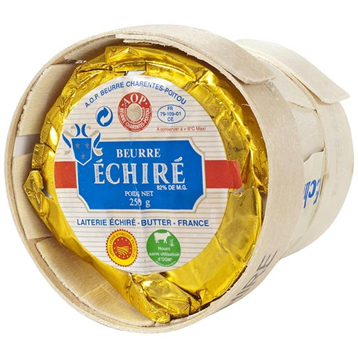 Echire Butter In A Basket, Unsalted
