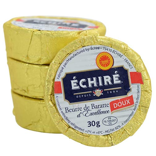 Unsalted Echire Butter - Minis (pre order)