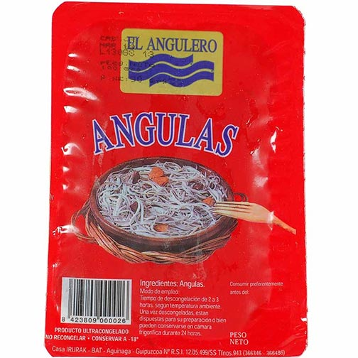 Angulas (Baby Eel) - Fresh Frozen
