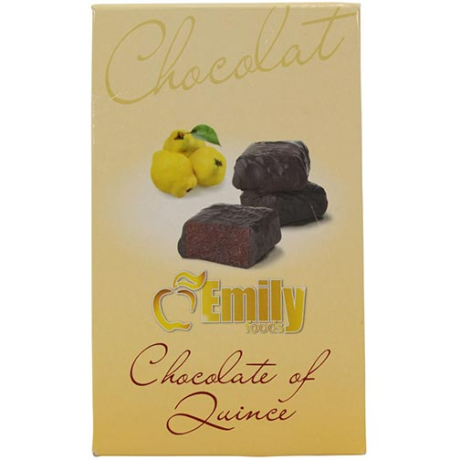 Quince Paste in Dark Chocolate