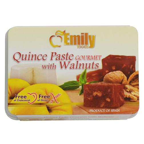 Quince Paste with Walnuts
