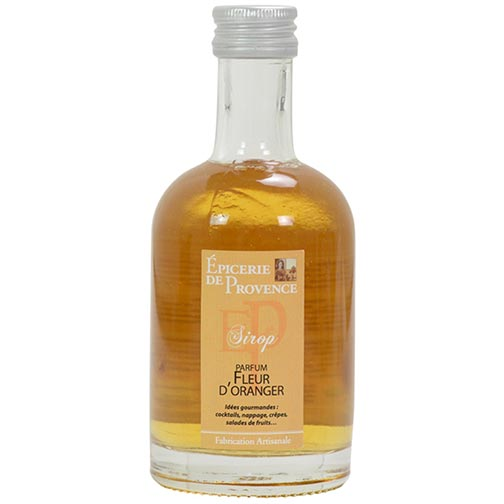 French Orange Blossom Syrup