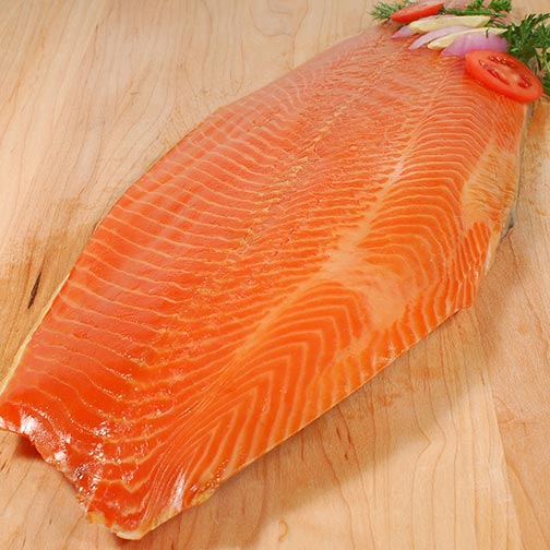 Norwegian Smoked Salmon Trout - Whole Side