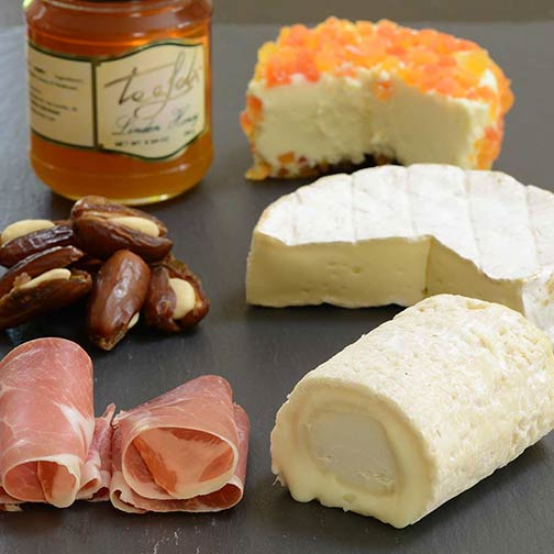 International Favorites Cheese Board