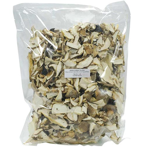 French Forest Mix Wild Mushrooms  - Dried