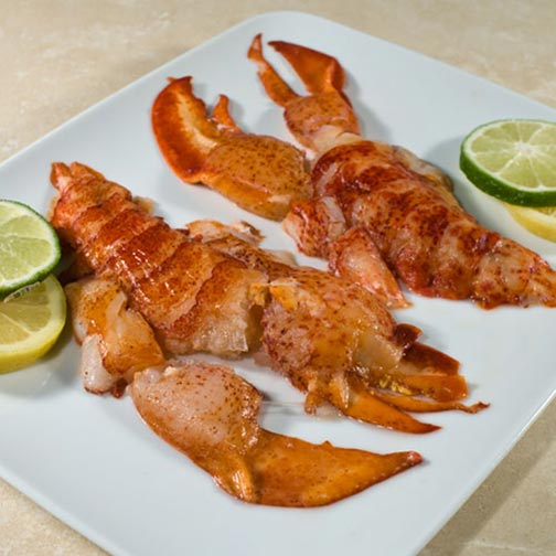 Raw Naked Lobsters - Flash Frozen