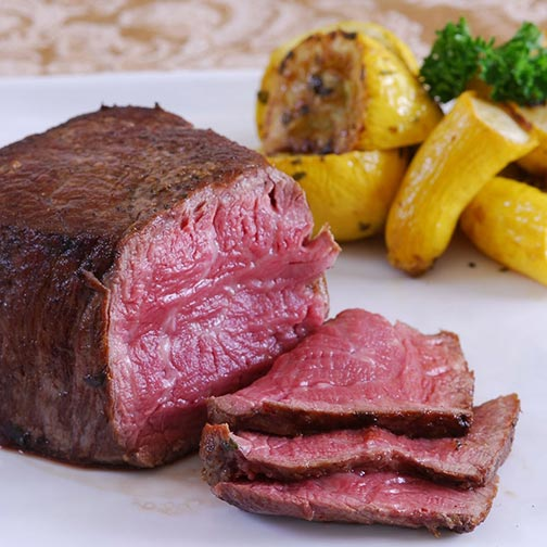 New Zealand Grass Fed Beef Tenderloin Steaks