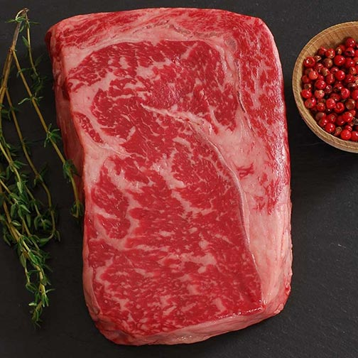Wagyu Beef Rib Eye Steak - MS7 - Whole, Cut To Order