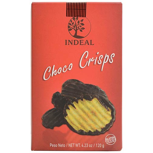 Chocolate Covered Potato Chips - Choco Crisps