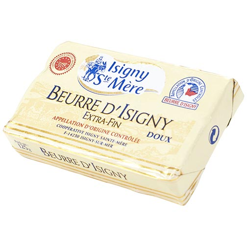 Beurre d'Isigny Butter Extra-Fin, Unsalted