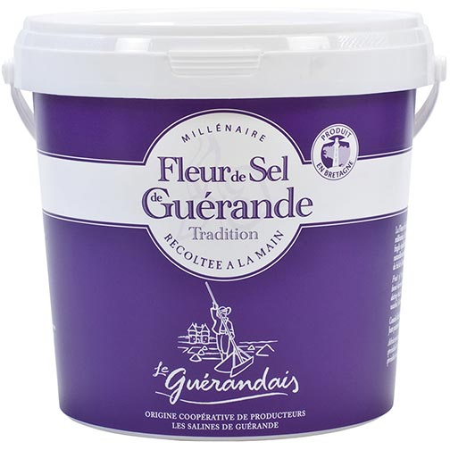 Fleur de Sel Sea Salt from Guerande