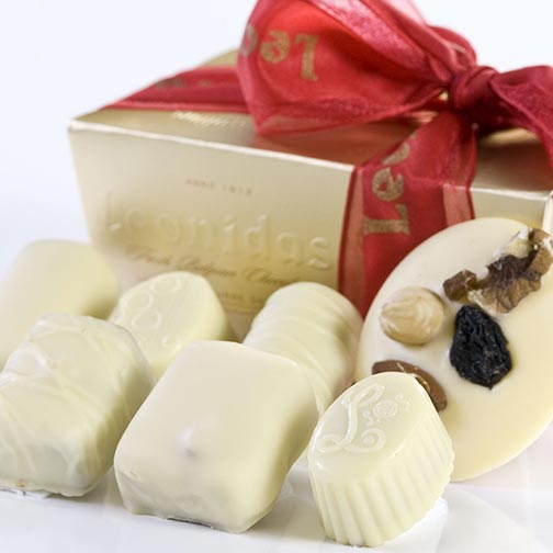 Leonidas Mixed White Chocolates