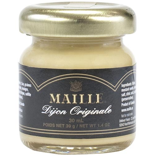 Maille Dijon Mustard Mini Jars - 72 count 1.4 oz jars