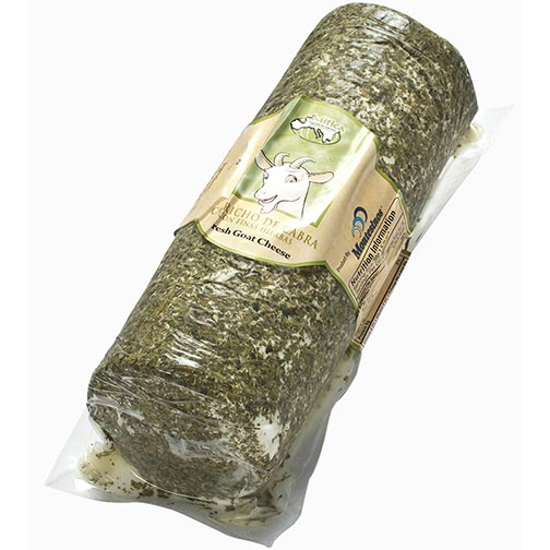 Fresh Goat Cheese Log with Herbs - Capricho de Cabra