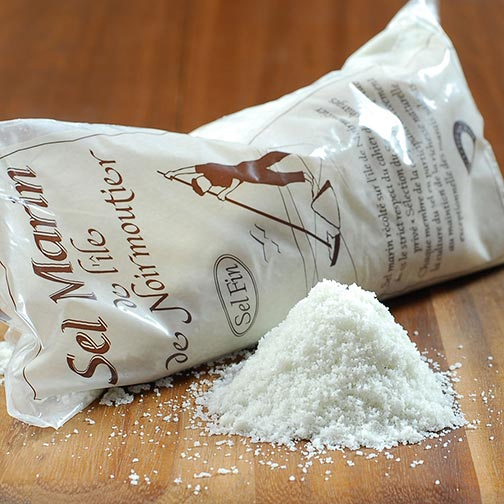 Fine Sea Salt from Noirmoutier