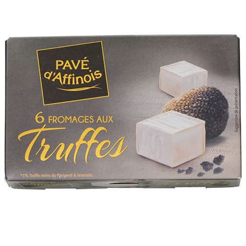 Fromagerie Gilloteau Pave d'Affinois with Truffles | Gourmet Food Store