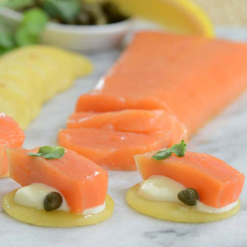 Norwegian Balyk Cut Smoked Salmon Trout