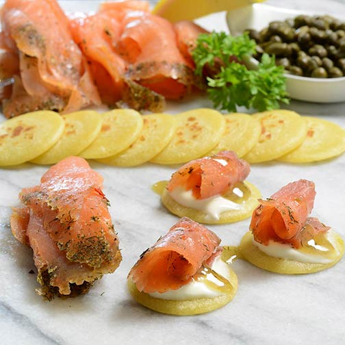 Scottish Gravadlax Smoked Salmon