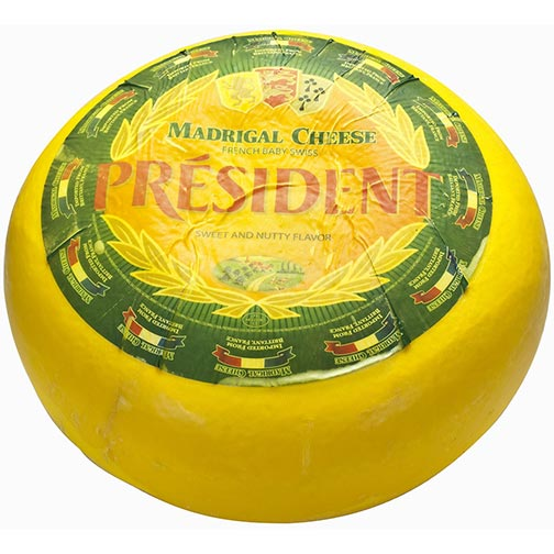 Madrigal Cheese - French Baby Swiss Cheese