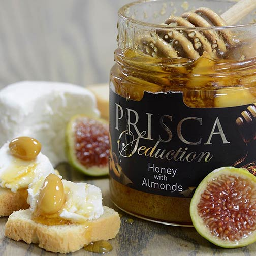 Prisca Portuguese Honey with Almonds | Gourmet Food Store