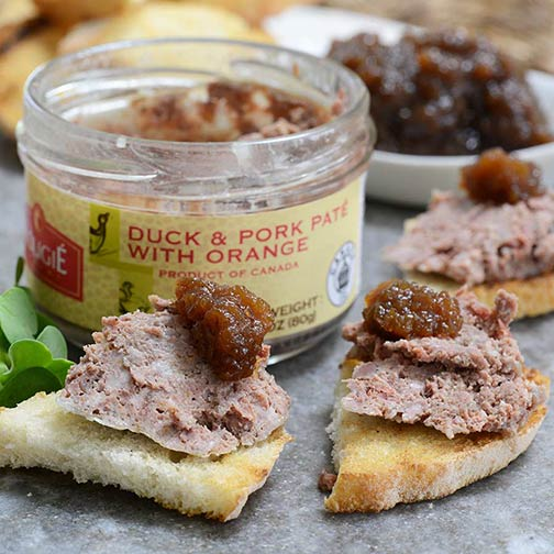Duck and Pork Pate with Orange | Gourmet Food Store