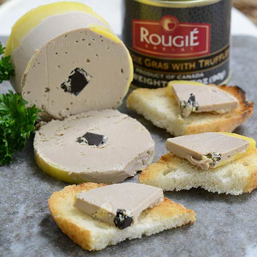 rougie duck foie gras pate de foie gras gourmet food store. Black Bedroom Furniture Sets. Home Design Ideas