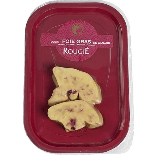 Fresh Duck Foie Gras - Sliced, Flash-Frozen