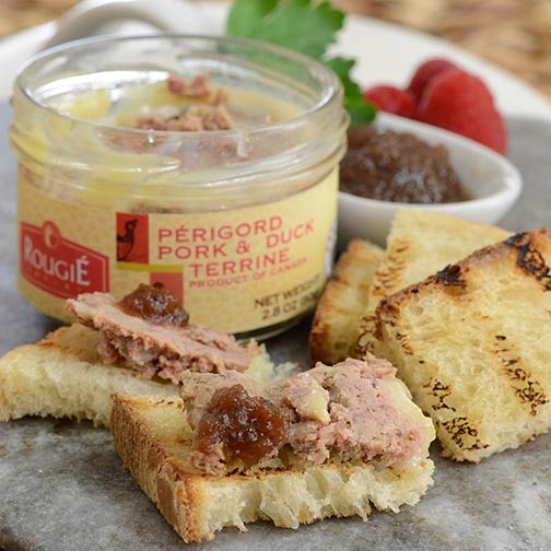 duck pate how to eat