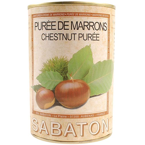 Chestnut Puree - Marrons Puree