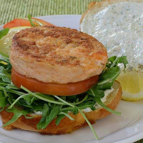 Salmon Burgers – Buy Our Premium Salmon Burger