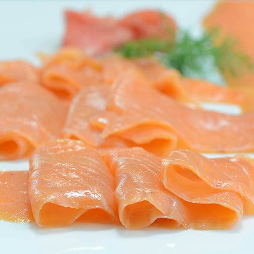 Scottish Smoked Salmon Legthwise Cut