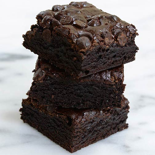 Scrumptious Chocolate Chip Chewy Brownies
