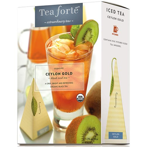 Tea Forte Ceylon Gold Iced Tea - Black Tea