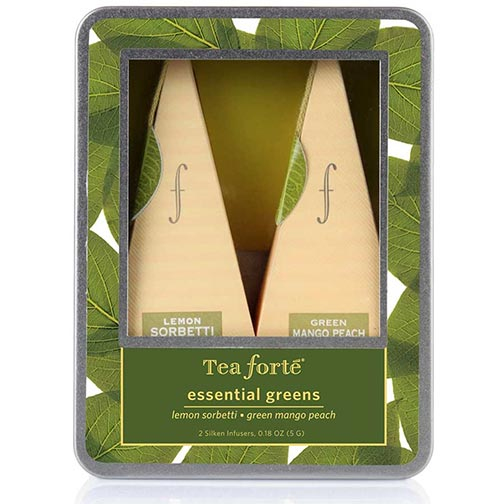 Tea Forte Essential Greens Collection Infusers