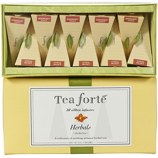 Tea Forte Herbals Collection - Ribbon Box, 20 Infusers