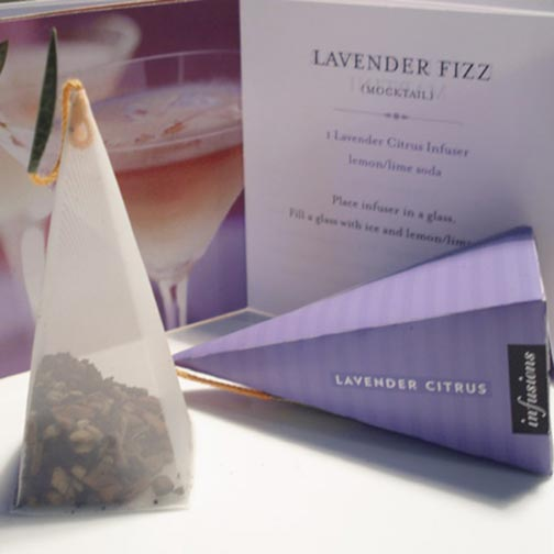 Tea Forte Lavender Citrus Cocktail Infusers