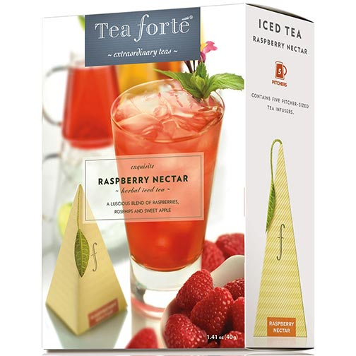 Tea Forte Raspberry Nectar Iced Tea - Herbal Tea